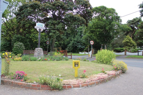 The Village Sign and Garden