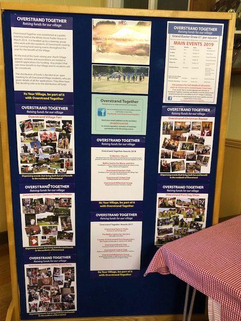 Display at Parish Meeting