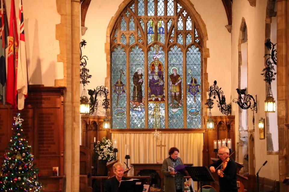 A Christmas Celebration at St. Martin's Church Overstrand 2020
